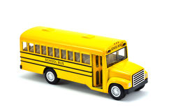 Model Of School Bus Stock Photo