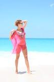 model sexigt för bikini Royaltyfri Foto