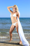 model sexigt för bikini Royaltyfria Bilder