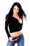 model sexigt för glamour Royaltyfri Foto