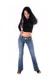 model sexigt för glamour Royaltyfri Fotografi