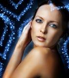 model sexigt för kvinnlig Fotografering för Bildbyråer