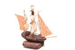 model ship Royaltyfria Foton