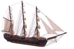 model ship Arkivbild