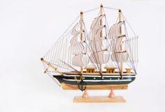 Model of ship. Royalty Free Stock Photos