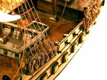 model ship Arkivfoton