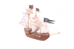 Model of ship royalty free stock images