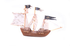 Model of ship Stock Photography