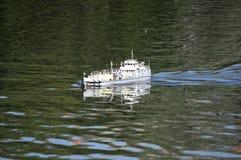 model ship Royaltyfri Foto