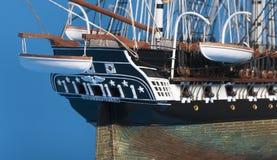 Model ship Constitution Stock Photo