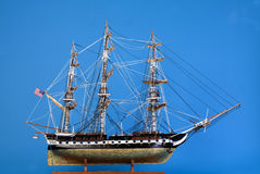 Model ship Constitution Royalty Free Stock Images