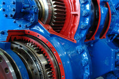 Model of ship engine Stock Photography