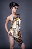 Model in short dress Stock Photos