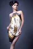 Model in short dress Stock Image