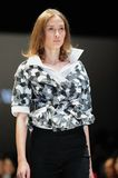 Model showcasing designs from Alldressedup at Audi Fashion Festival 2012 Stock Photos