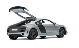 Model silver car Stock Photos