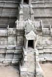 Model simulation of Preah Vihear Temple. Royalty Free Stock Photo
