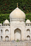 Model simulation of Taj Mahal. Royalty Free Stock Image