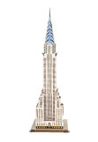 Model skyscraper. Chrysler Building (symbols of New York Stock Image