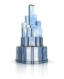 Model of a skyscraper Royalty Free Stock Photo