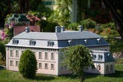 Model of small castle Stock Photo
