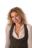 Model Smile Stock Image