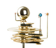 Model of the solar system Royalty Free Stock Image