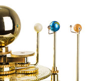 Model of the solar system Stock Photos