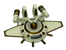 Model of spaceship Royalty Free Stock Images