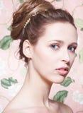 model stående n3 för skönhet Royaltyfria Bilder