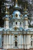 Model St. Andrew's Church in Kiev Royalty Free Stock Photo