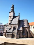 Model of St. Micheal The Archangel church, Lublin Royalty Free Stock Photos