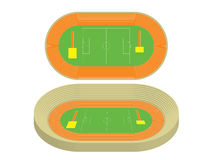 Model of stadium. Vector illustration Stock Image