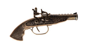 Model stary pistolet Zdjęcie Royalty Free