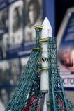 Model statek kosmiczny w planetarium w Yaroslavl Zdjęcia Royalty Free