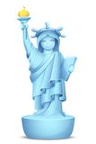 Model of Statue of Liberty Stock Photography
