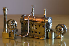Model steam engine Royalty Free Stock Photos