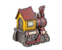 Model of steam locomotive Royalty Free Stock Image