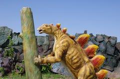 Model of Stegosaurus dinosaur Stock Photo