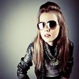 model stilfullt barn Royaltyfria Bilder
