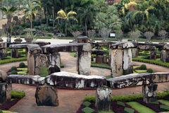 Model of Stonehenge in Thailand Stock Image