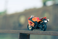 A model of a street bike Royalty Free Stock Photos