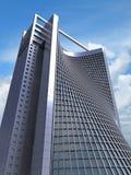 model struktur för kontor 3d Royaltyfri Foto