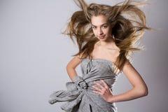 model studio för skönhet Fotografering för Bildbyråer