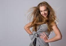 model studio för skönhet Royaltyfri Fotografi