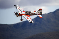 A model stunt plane Stock Photos