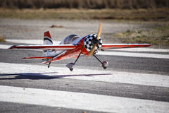 A model stunt plane Stock Images