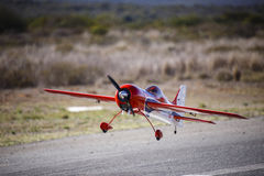 A model stunt plane Royalty Free Stock Photo