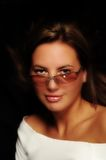 Model with Sunglasses Royalty Free Stock Photography