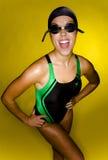 Model in Swimsuit Stock Photo